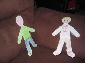 Photo of Flat Students created by Alex and Colin Harbeck.